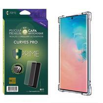 Kit HPrime Película Curves Pro 3 + Capa para Samsung Galaxy Note 10 6.3 -
