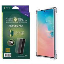 Kit HPrime Película Curves Pro 3 + Capa para Samsung Galaxy Note 10+ Plus 6.8 -