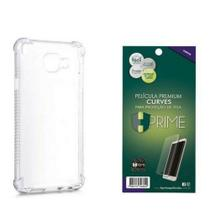 Kit HPrime Película Curves Pro 3 + Capa para Samsung Galaxy Note 10+ Plus 6.8 -
