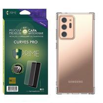 Kit HPrime Película Curves Pro 3 + Capa para Samsung Galaxy Note 20 Ultra 6.9 -