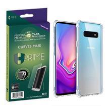"Kit HPrime Película Curves Pro 3 + Capa para Samsung Galaxy S10 Plus 6.4"" -"
