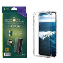 Kit HPrime Película Curves Pro 3 + Capa para Samsung Galaxy S20+ Plus 6.7 -