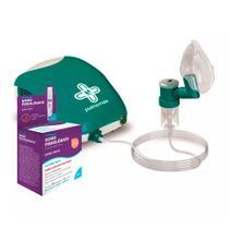 Kit Inalador Pulmomais Soniclear + Soro Fisiológico ADV 10 Ampolas 5ml cada -