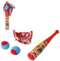 Kit Infantil Baseball Com Taco Luva 2 Bolinhas Para Crianças - Ark toys