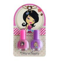 Kit Infantil Com 2 Esmaltes Discoteen -