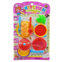Kit infantil cozinha kitchen mini set series - amatoys - ddc/fjn - AMACON
