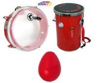 Kit Infantil Tantan + Ganza + Pandeiro - Luen Kids -