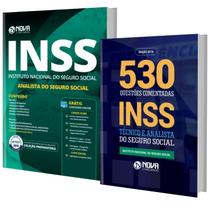 Kit INSS Apostila  Analista do Seguro Soc + Livro 530 Quest - Nova