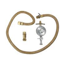 Kit instalacao gas universal com regulagem fogao electrolux 80000427 -