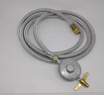 Kit Instalação Para Fogão Gás Glp Flex 1,200m Prata - Alum.