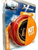 Kit instalação som automotivo potência de 1.500w rms - c/ cabos de alta qualidade - Permak