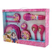 Kit Instrumento Conjunto Musical Princesas - Toyng -