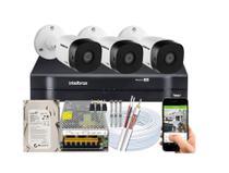 Kit Intelbras Multi Hd 3 Cameras 1m Vhd 1120b 720p 3.6mm -