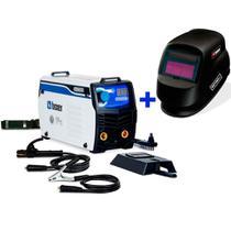 Kit Inversora de solda 140A TOUCH145 + Máscara de auto-escurecimento - Boxer -