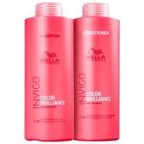 Kit Invigo Brilliance Shampoo 1L e Condicionador 1L - Wella Professionals -