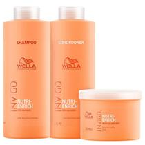 Kit Invigo Nutri-Enrich Salon Trio (3 Produtos) - Wella Professionals