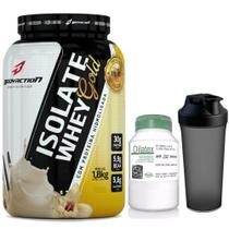 Kit isolate whey gold 1,8kg + dilatex 152caps + coqueteleira