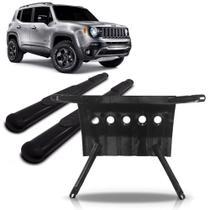 Kit Jeep Renegade Estribo Oval + Protetor Carter - Avt