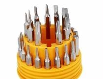 Kit Jogo Chave Fenda Phillips Torx Estojo Precisão 31 Em 1 - Sy eletrônicos