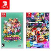 Kit Jogos Switch Penny Punching Princess e Mario Kart 8 Deluxe - Nintendo