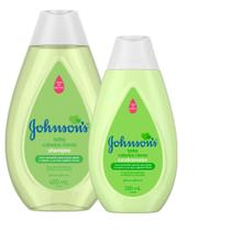 Kit Johnson's Baby Cabelos Claros - Shampoo 400ml + Condicionador 200ml -