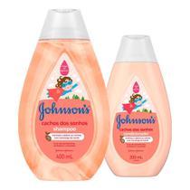 Kit Johnson's Baby Cachos Definidos - Shampoo 400ml + Condicionador 200ml -