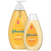 Kit Johnson's Baby Regular: Shampoo 750ml + Condicionador  400ml -
