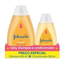 Kit Johnson's Baby Tradicional Shampoo 400ml + Condicionador 200ml - Johnsons