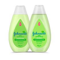 Kit Johnson's Cabelos Claros  Shampoo 200mL e Condicionador 200mL - Johnson'S Baby