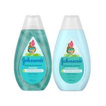 Kit Johnsons Baby Hidratação Intensa Condicionador +Shampoo -