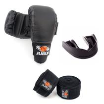 Kit Jugui- Luva Bate Saco + Bandagem + Protetor Bucal -