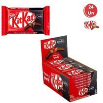 Kit Kat Dark Nestlé Chocolate 41g Ao Leite 24 Unidades -