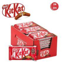 Kit Kat Nestlé Chocolate Clássico Ao Leite 24 Unidades -
