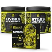 Kit Kimera Thermo + Glutamina 150g + Creatina 150g - Iridium Labs