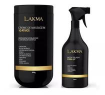 Kit Lakma Creme 10 Ativos + Body Splash Firm Up -