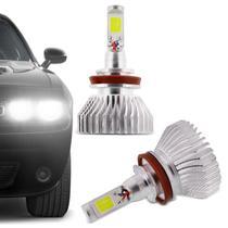 Kit Lâmpada C6 Super LED 2D H11 6000K 12V 24V 6400LM Efeito Xênon Carro e Caminhão - Prime