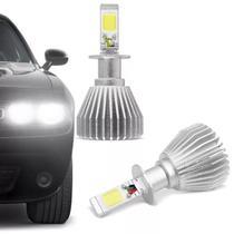 Kit Lâmpada C6 Super LED 2D H3 6000K 12V 24V 6400LM Efeito Xênon Carro e Caminhão - Prime
