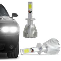 Kit Lâmpada C6 Super LED 2D Headlight H1 6000K 12V 24V 6400LM Efeito Xênon Carro Caminhão - Prime