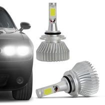 Kit Lâmpada C6 Super LED 2D Headlight HB4 6000K 12V 24V 6400LM Efeito Xênon Carro Caminhão - Prime