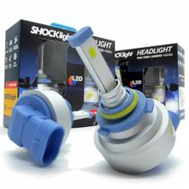 Kit Lâmpada Headlight Led HB3 9005 12V 35W 6000k 3200 Lúmens Shocklight -