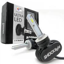 Kit Lâmpada Led H1 UltraLed Shocklight 8000lm 50w 6k Branco -
