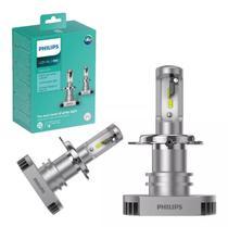 Kit Lampada Philips Led Ultinon H4 6200k Par +160% Luz -