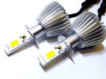 Kit lâmpada super led 2d h3 - 40w 8000k - e-tech - 3200 lumiens - par -