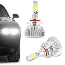 Kit Lâmpada Super LED 2D HB3 6000K 12V 24V 6400LM Efeito Xênon Carro e Caminhão Branco - Prime