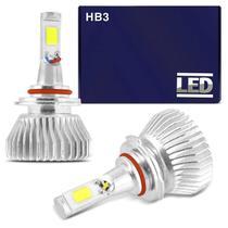 Kit Lâmpada Super LED 2D Headlight HB3 6000K 12V 24V 35W 6400LM Efeito Xênon carro moto caminhão - Shocklight
