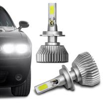 Kit Lâmpada Super LED 3D H7 6000K 12V 24V 9000LM Efeito Xênon Carro e Caminhão Branco - Prime
