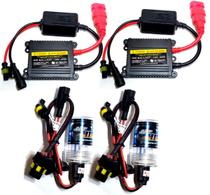 Kit lâmpada xenon slin hb4 - 35w 8000k - e-tech - completo -