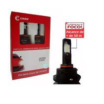 Kit lâmpadas super led plus h7 6500k 12v 24v 16w 4400 lúmens - Cinoy