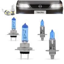 Kit Lampadas Vectra GLS GL CD 97 98 99 Super Brancas Farol H7 H1 - Techone 8500k 12v 55w Inmetro -