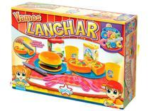 Kit Lanchonete de Brinquedo - Crec Crec Vamos Lanchar Big-Star